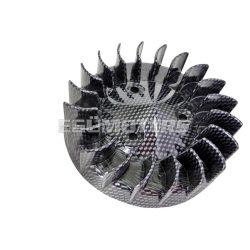 Karbon mintás ventillátorlapát, Minarelli fekvő