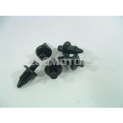 Műanyag rögzítő patent / bolha, benyomós, 6mm