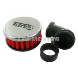 TunR sportlégszűrő, 90 fokos, Piros