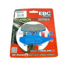 EBC fékbetét, karbon, SFAC353