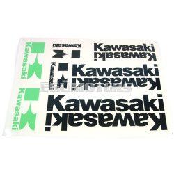 Kawasaki matrica szett fekete, B4