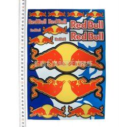 Red Bull matricaszett, A4-es