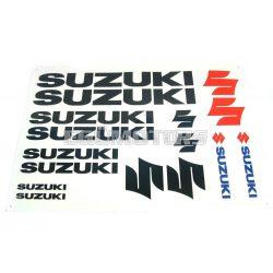 Suzuki matrica szett, fekete