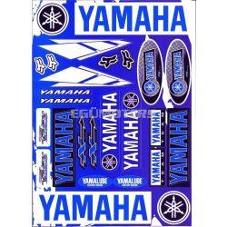 Yamaha matricaszett, A4-es