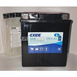 Exide AGM zselés akkumulátor YTX7L-BS, ETX7L-BS