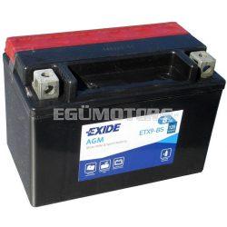 Exide AGM zselés akkumulátor YTX9-BS, ETX9-BS