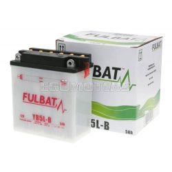 Fulbat savas akkumulátor YB5L-B+sav