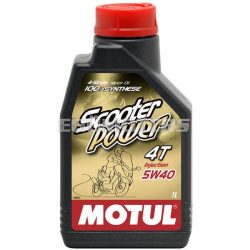 Motul Scooter Power 5W-40, 4T motorolaj