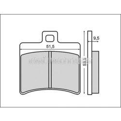 RMS fékpofa, tárcsafékhez, Leonardo 125/250