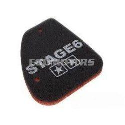 Stage6 Kétrétegű légszűrőszivacs, Peugeot