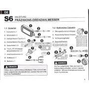 Stage6 R/T G2 multiméter, narancs