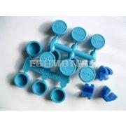 Polini görgőhéj szett, 15x12, Kék