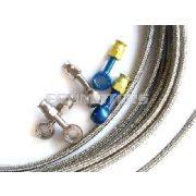 Allegri fémfékcső, műanyag burkolattal