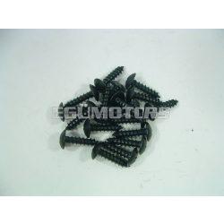 Motoforce idomcsavar, 4x16, fekete