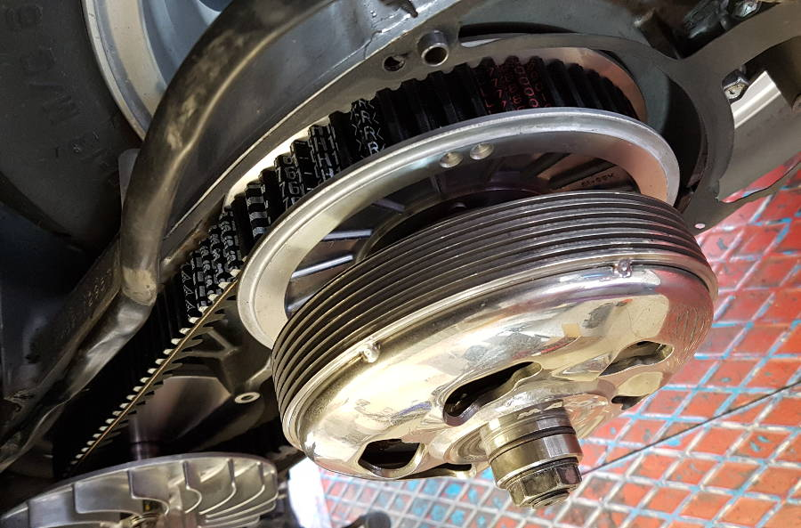 CVT, variátor hiba a robogóknál